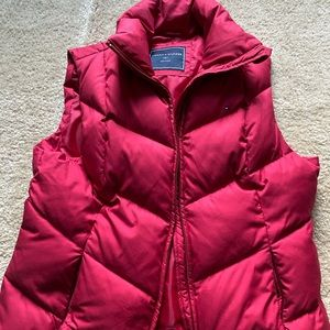 Tommy Hilfiger Red Puffy Vest